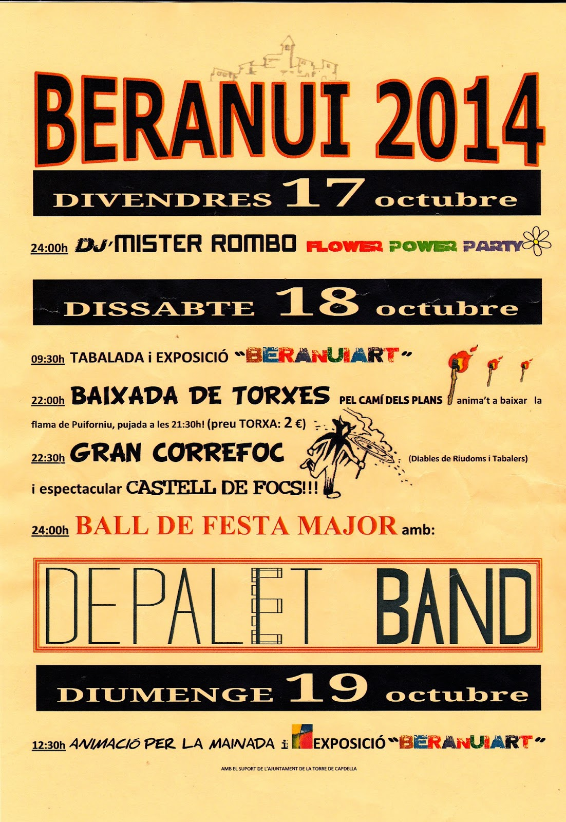 Festa Major Beranui 2014