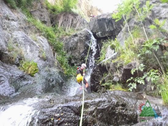 Barranquisme A La Vall Fosca