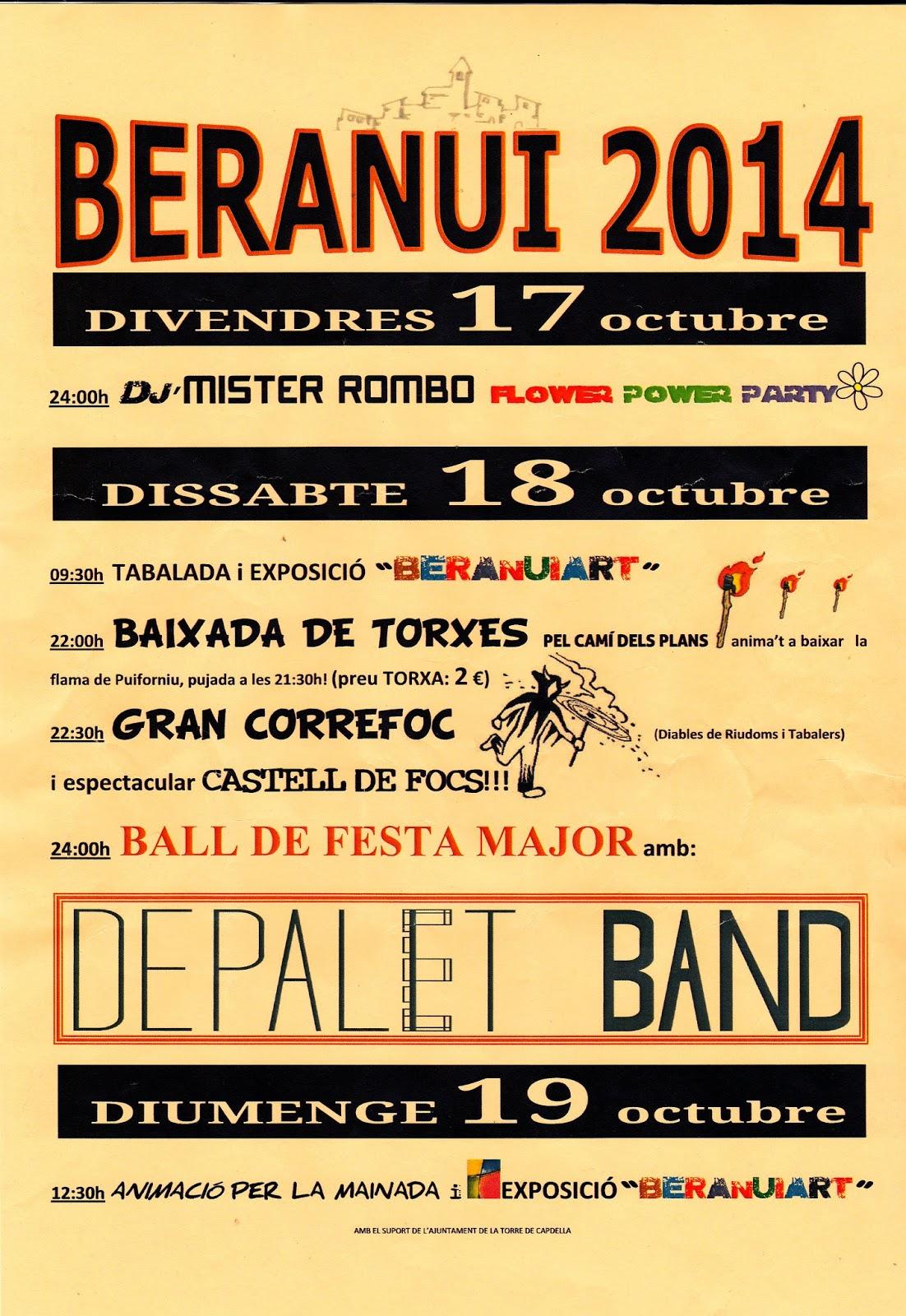 Festa Major Beranui 2014
