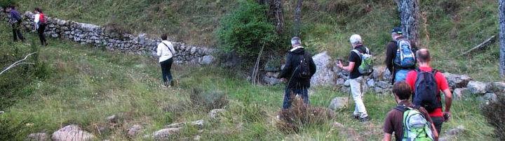Senderistes A La Vall Fosca